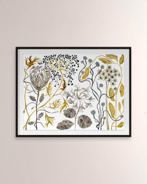 "Grand Image Home ""Wildflowers IV"" Digital Art Print by Judith Bingham"